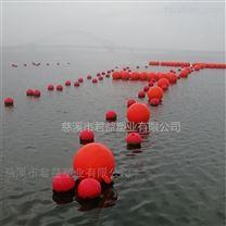海上养殖区警戒塑料浮球 直径500mm