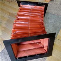 锅炉排烟系统耐高温尼龙布伸缩软连接