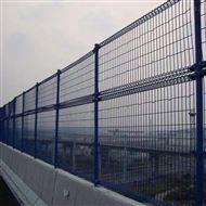 双圈式桥梁防抛网 钢板网式高速防落物网