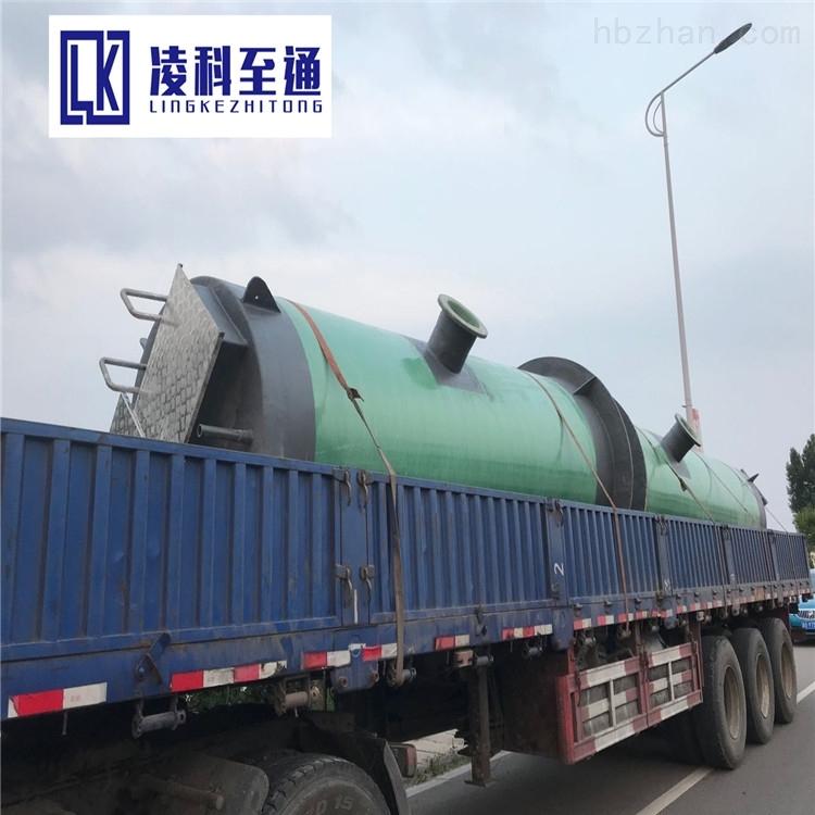 温州一体化预制泵站技术参数至通