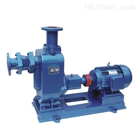 ZW型铸铁污水自吸泵