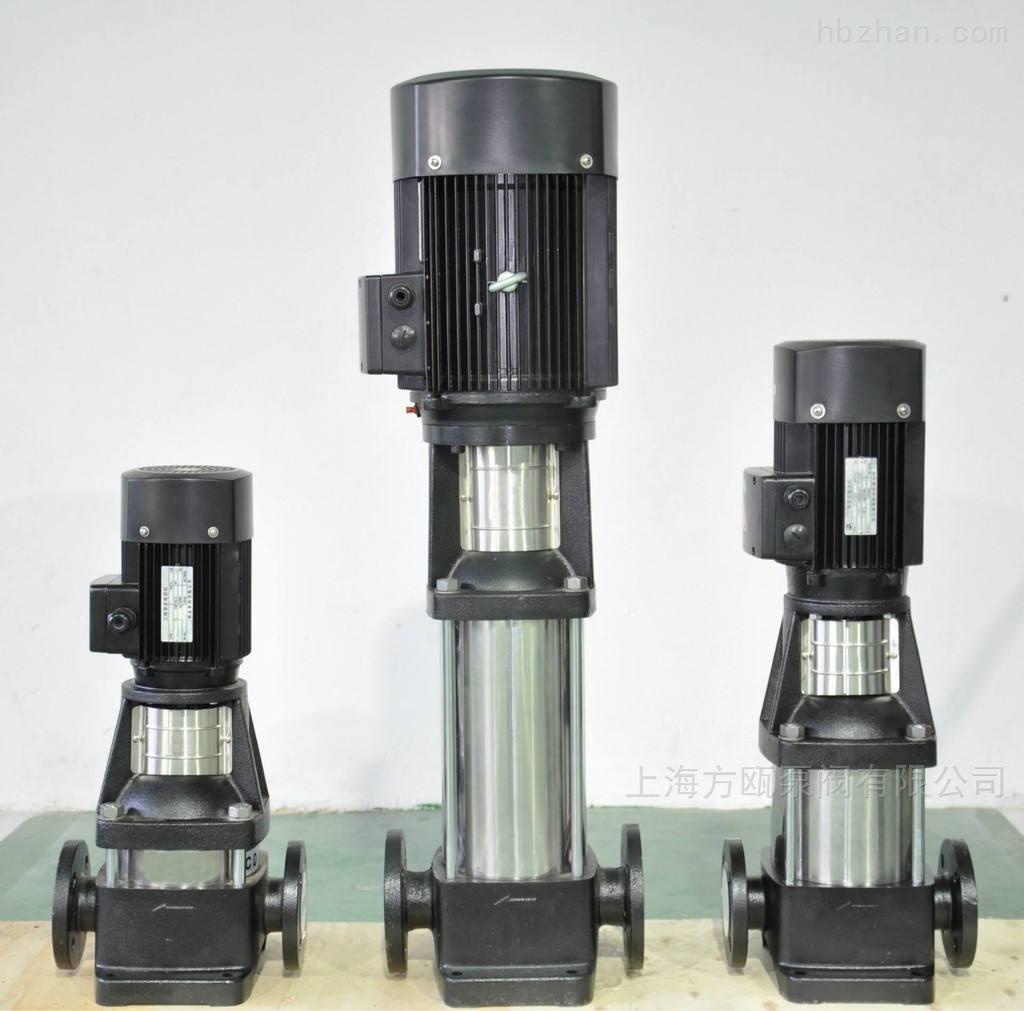 立式不锈钢多级管道离心泵