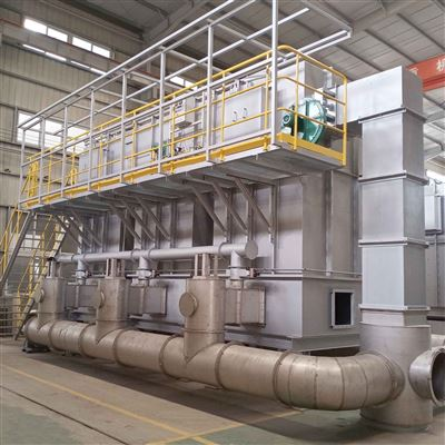蓄熱式RCO化工廠有機vocs廢氣催化燃燒處理焚燒爐RCO