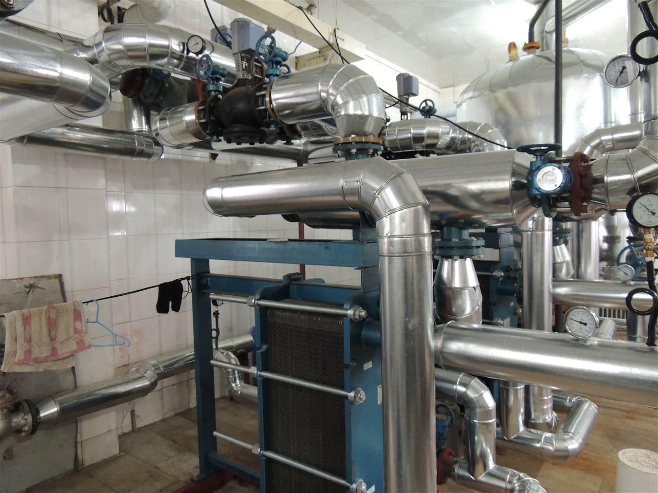 医院洗澡生活热水换热系统