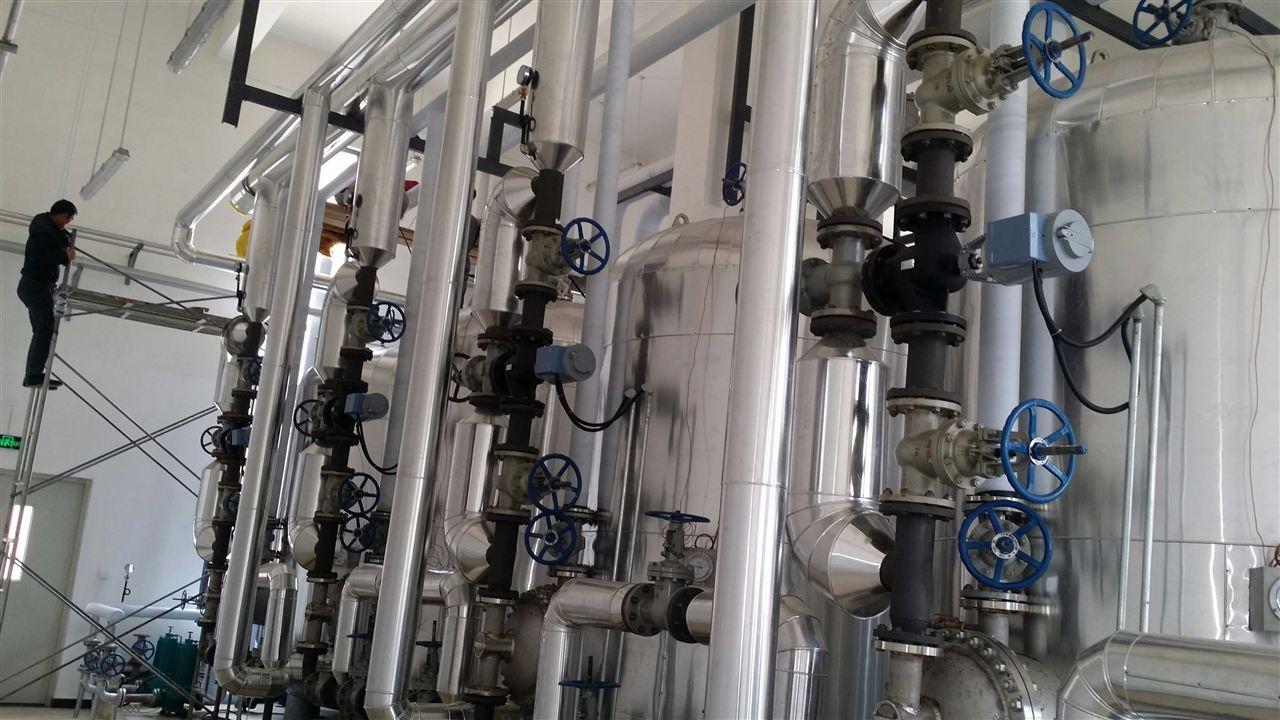 工厂汽水换热工艺热水应用案例30