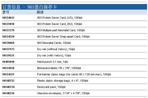 10534612-Whatman 903滤纸 蛋白保存卡  普通收集卡-滤纸