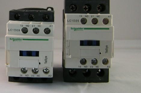施耐德交流接触器lc1-d38e7c