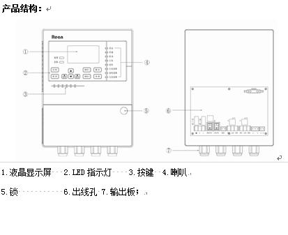 最大功率: 1w 通讯方式:m-bus 总线 信号输出:一组无源常开信号 接线