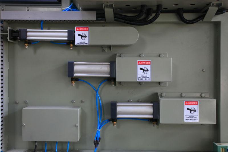 食品和饮料污水处理带式污泥脱水机设备气缸