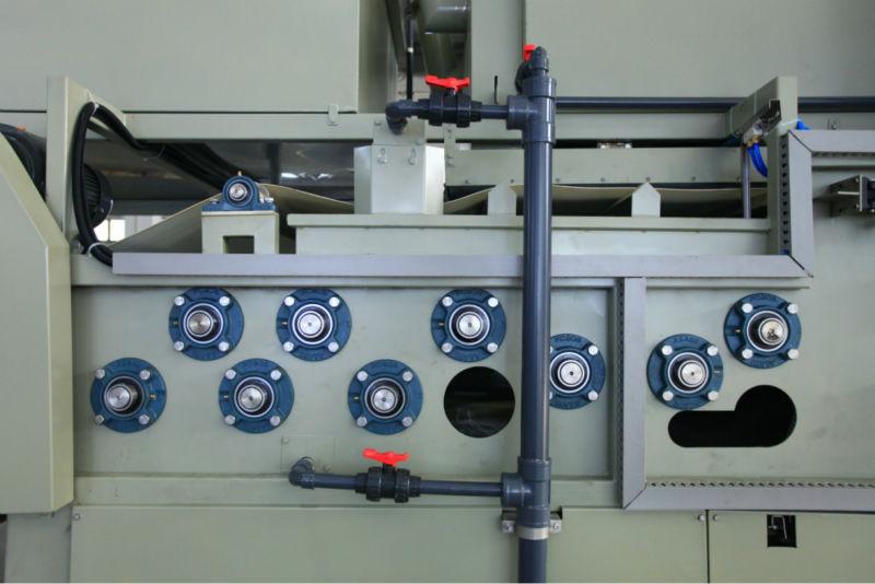 食品和饮料污水处理带式污泥脱水机轴承