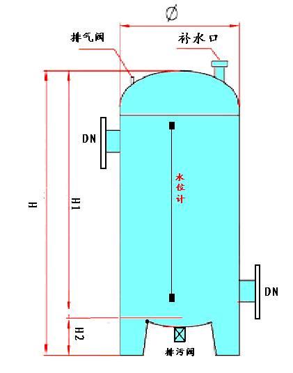 水泵真空引水装置结构图