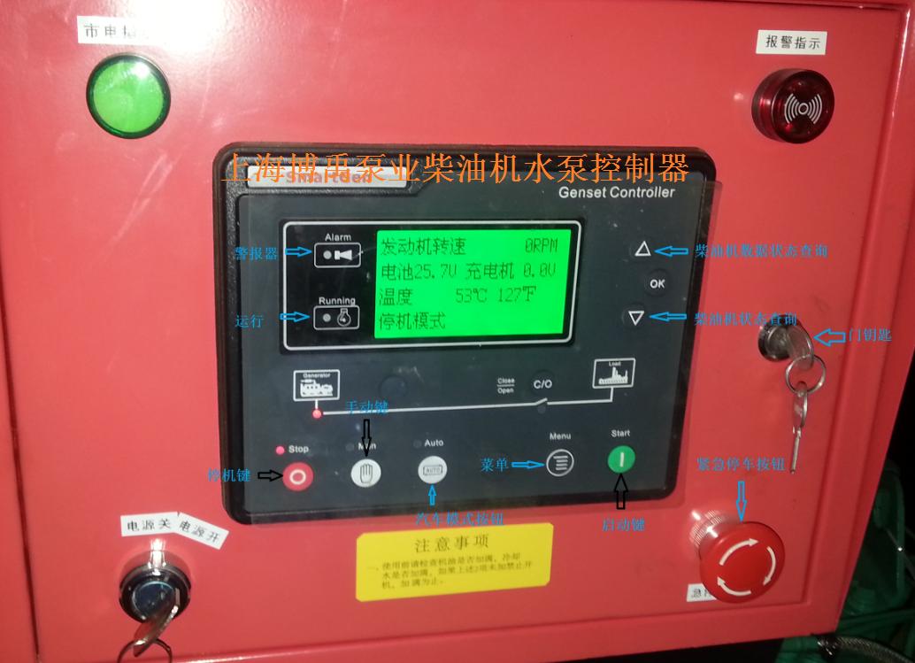 柴油机泵控制器