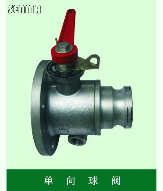 > q41f槽车专用单向球阀q41f      主要用于开关,切断或接通管路中的图片