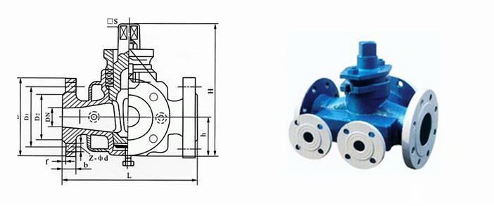 (3)沥青旋塞阀结构简单,相对体积小,重量轻,便于维修.