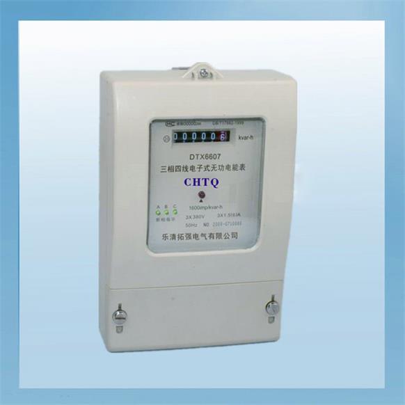 其它仪器仪表 电工仪器仪表 三相有功电表    dts6607三相四线电子式