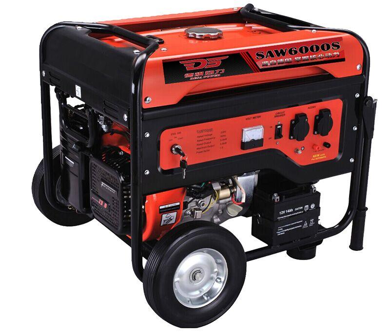 飒威动力小型汽油发电机工作原理:发动机是将化学能图片