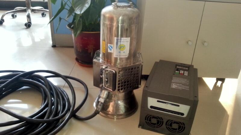 不锈钢永磁电机潜水泵