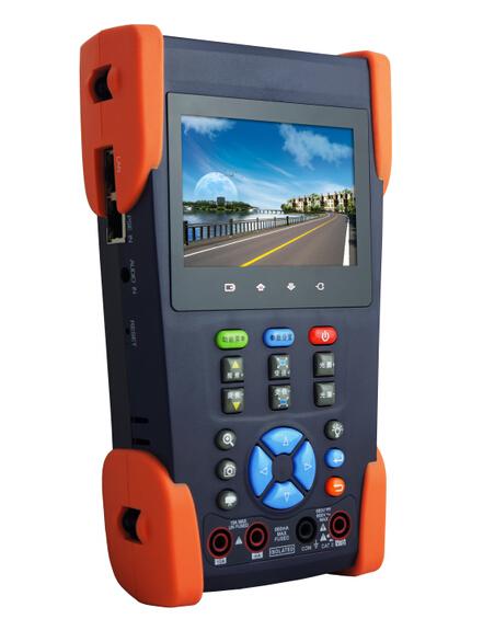 网络摄像机画面查看+模拟视频监控测试仪
