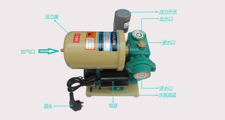 全自动自吸泵结构图