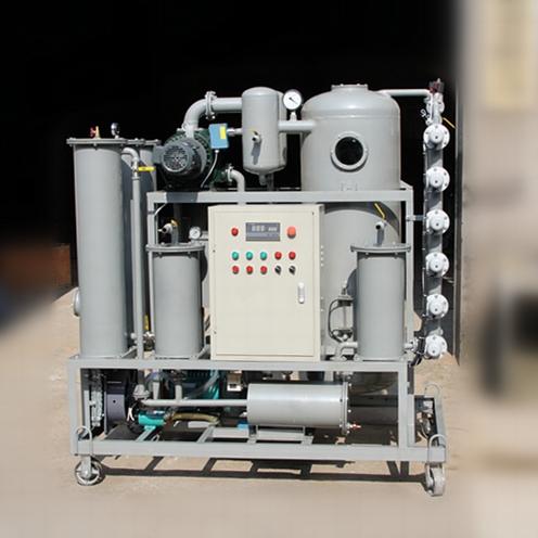 TR/ZJR多功能除酸再生双级真空滤油机