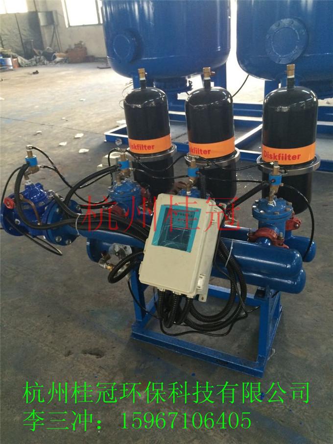 东莞工业循环水盘式过滤器图片