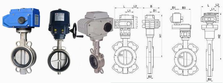 D971X电动不锈钢软密封对夹蝶阀 产品概述 D971X电动不锈钢软密封对夹蝶阀适用于需要流量调节或开关的场合。由于蝶阀在管路中的压力损失比较大,大约是闸阀的三倍,因此在选择蝶阀时,应充分考虑管路系统受压力损失的影响,还应考虑关闭时蝶板承受管道介质压力的坚固性。当要求蝶阀作控制流量使用时,最重要的是正确选择蝶阀的尺寸和类型,使之能恰当地、有效地工作。   中线蝶阀通常在节流、调节控制与泥浆介质中,要求结构长度短,启闭速度快(1/4转)。低压截止(压差小),推荐选用蝶阀。  在双位调节、缩口地通道、低噪声、