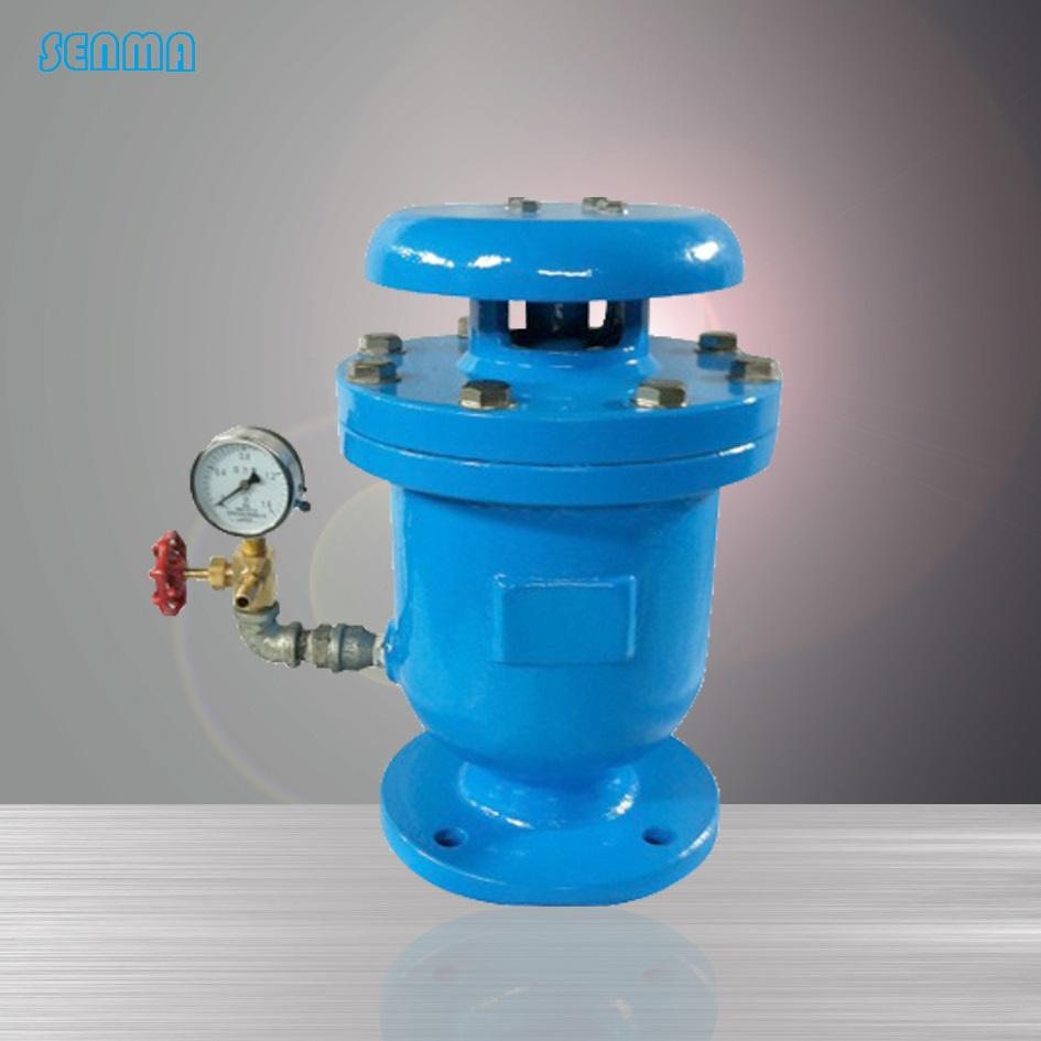 0mpa - - 复合式排气阀fsp结构尺寸: 公称通径dn b h d2 螺栓 重量(kg图片