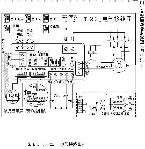 pt-2d-j-调节型阀门电动装置模块-扬州贝尔阀门控制