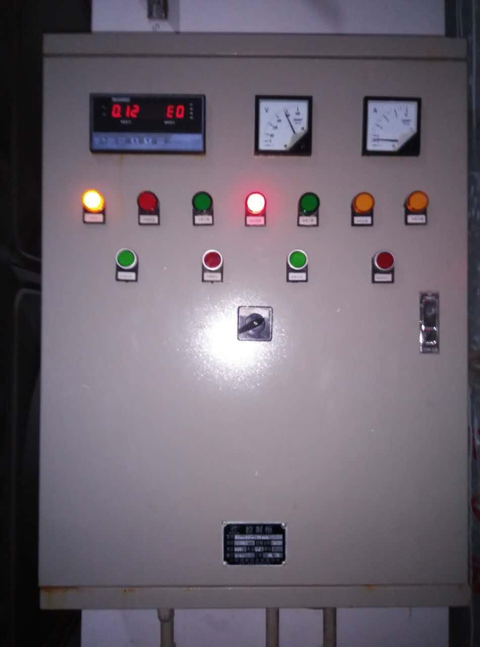 水泵按钮控制电路图