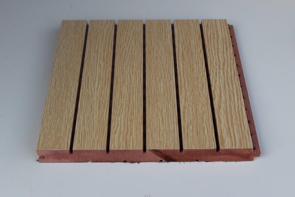 体育馆木质吸音板安装介绍