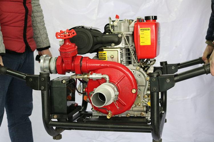 5寸柴油机消防水泵图片