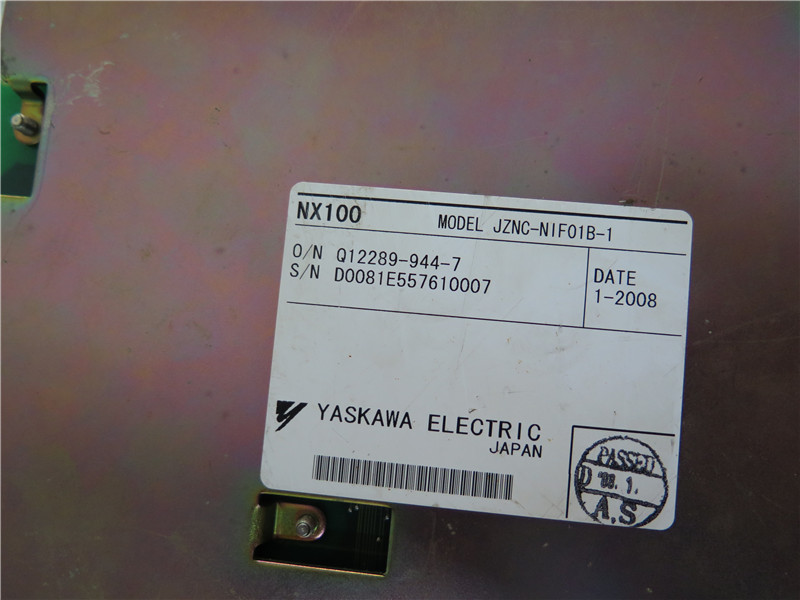 jznc-nif01b-1 二手安川nx100机器人通讯基板 jznc-nif01b-1 包好
