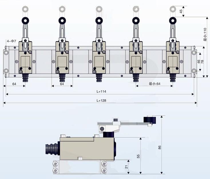 DWG 高品质导叶位置开关 DWG 型生产厂家 报价