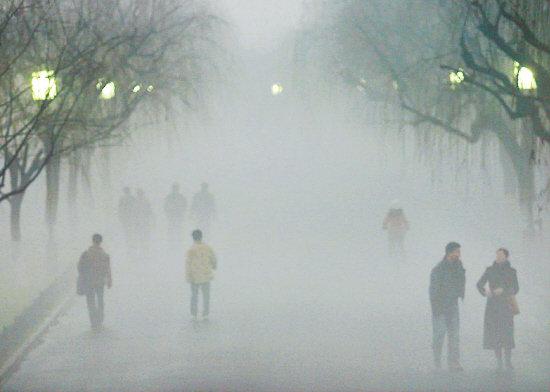 京津冀地区雾霾再起