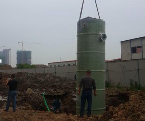 地埋预制式一体化污水提升泵站施工方案