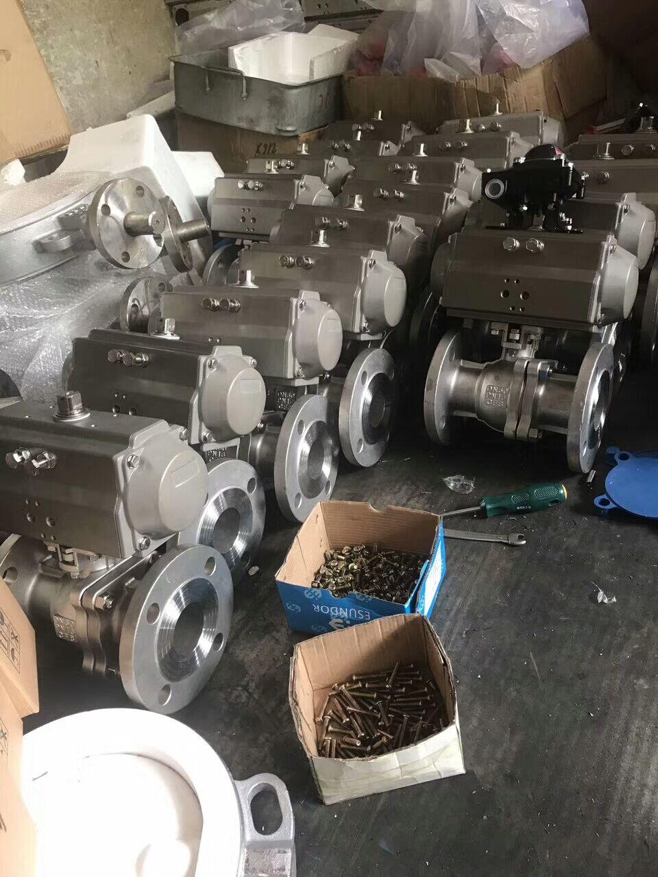 郑州-气动不锈钢球阀 良工阀门图片