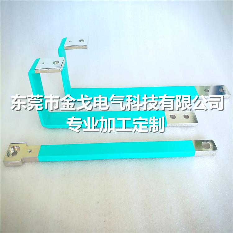 由铝质材料制作的称为铝排,在电路中起输送电流和连接电气设备的作用.
