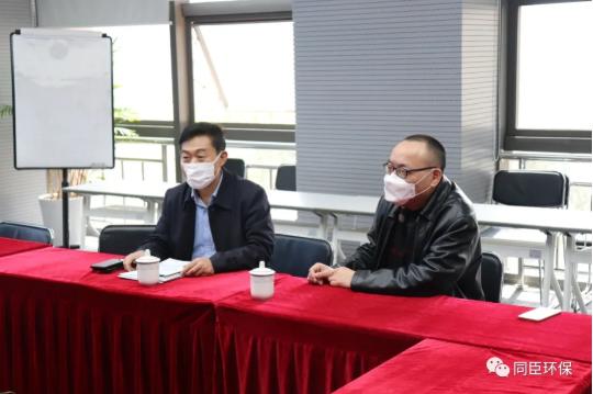 上海市科委社会发展处处长郑广宏视察指导我司疫情期间复工复产工作