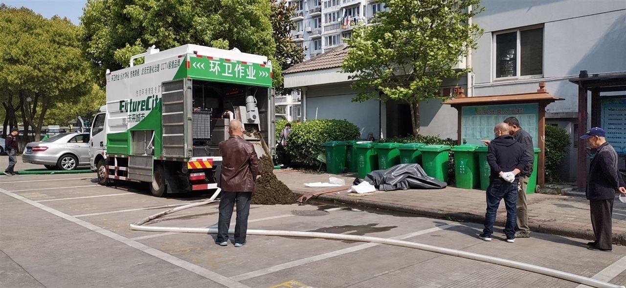 糞便硬化處理環保吸糞車