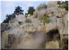 海南假山大红鹰普京会娱乐城造景工程人造景系统景区造雾产品要闻