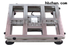 60kg全不锈防水电子台秤KS320-3040上海亚津台秤